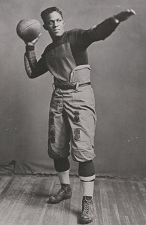 Fritz Pollard rarely gets remembered for being the first African American to play football.