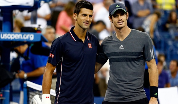 Good friends and familiar rivals, Novak Djokovic (left) and Andy Murray (right) will face off against each other in a fifth major finals.