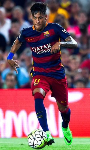 Neymar is one of the best players in the world and will have to step up for Barcelona while the team is without Lionel Messi.