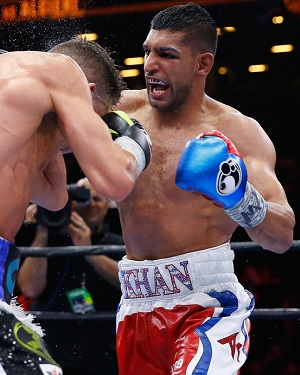 While still remaining aggressive, Amir Khan significantly improved his defense when he started training with Virgil Hunter, becoming a much more well-rounded fighter.