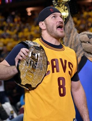 It was easy to tell how much it meant to Stipe Miocic to win a world championship for Cleveland and now he gets to defend his title in front of those fans.