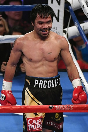 Manny Pacquaio looked undeniably like he is still one of the greatest fighters in the world. After his one-sided win over Jessie Vargas, a rematch with Floyd Mayweather Jr is the only thing that makes any sense.
